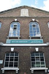 Brick Lane mosque, London Borough of Tower Hamlets.