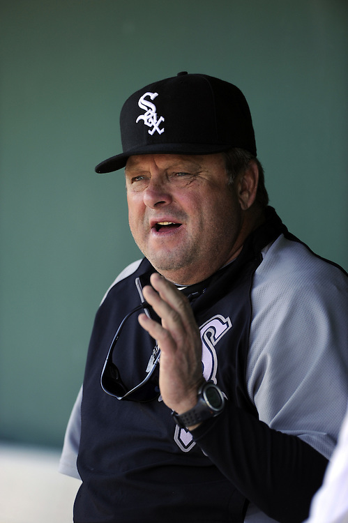 SCOTTSDALE, AZ - MARCH 09:  Pitching coach Don Cooper #21 of the Chicago White Sox looks on prior to the game against the San Francisco Giants on March 09, 2011 at Scottsdale Stadium in Scottsdale, Arizona.  The Giants defeated the White Sox 4-2. (Photo by Ron Vesely)