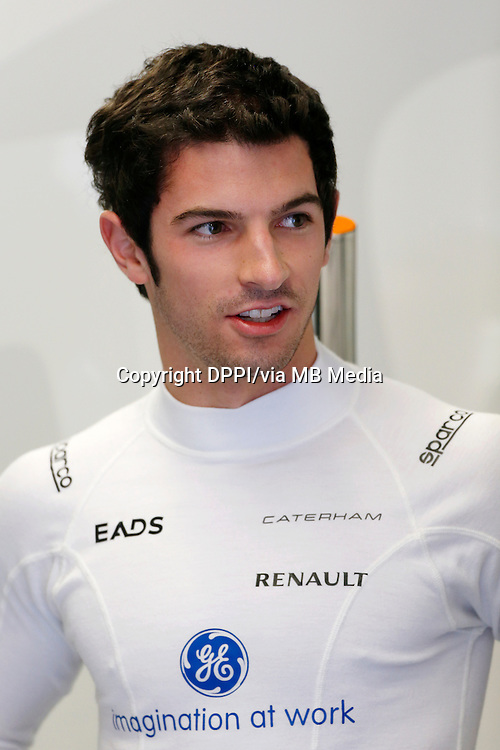 MOTORSPORT - F1 2013 - GRAND PRIX OF CANADA - MONTREAL (CAN) - 07 TO 09/06/2013 - PHOTO FRANCOIS FLAMAND / DPPI - ROSSI ALEXANDER (USA) - TEST DRIVER - CATERHAM RENAULT CT03 - AMBIANCE - PORTRAIT