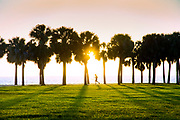 Florida, Saint Petersburg, Vinoy Park, Tampa Bay, Sunrise