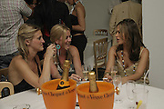 Kate Sutton, Alice Polkinghoene and Arabella Foster, The BladeRun Send-off party. The Henry Moore Gallery SW7, Royal College of Art. 16 August 2006.  ONE TIME USE ONLY - DO NOT ARCHIVE  © Copyright Photograph by Dafydd Jones 66 Stockwell Park Rd. London SW9 0DA Tel 020 7733 0108 www.dafjones.com