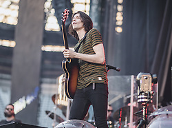 28.06.2019, Wörthersee Stadion, Klagenfurt, AUT, Ed Sheeran Konzert, Vorgruppe, im Bild James Bay // James Bay during the opening act before the concert of Ed Sheeran at the Wörthersee Stadion in Klagenfurt, Austria on 2019/06/28. EXPA Pictures © 2019, PhotoCredit: EXPA/ Johann Groder