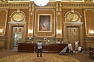 = restauration of the casino americas room,  Monaco  Monaco ///   Casino restauration de la salle des ameriques  Monaco  Monaco  /// L0055506