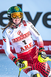 16.02.2019, Aare, SWE, FIS Weltmeisterschaften Ski Alpin, Slalom, Damen, 2. Lauf, im Bild Katharina Liensberger (AUT) // Katharina Liensberger of Austria during her 2nd run for the ladie's Slalom of FIS Ski World Championships 2019. Aare, Sweden on 2019/02/16. EXPA Pictures © 2019, PhotoCredit: EXPA/ Dominik Angerer