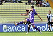 Udine, 18 Settembre 2011.Campionato di calcio Serie A 2011/2012  3^ giornata..Udinese vs Fiorentina. Stadio Friuli..Nella Foto: Goal 2-0 di Mauricio Isla..© foto di Simone Ferraro