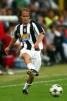 Milano 27/7/2004 Trofeo Tim - Tim tournament <br /> <br /> <br /> <br /> David Baiocco Juventus<br /> <br /> <br /> <br /> Inter Milan Juventus <br /> <br /> Inter - Juventus 1-0<br /> <br /> Milan - Juventus 2-0<br /> <br /> Inter - Milan 5-4 d.cr - penalt.<br /> <br /> <br /> <br /> Photo Andrea Staccioli Graffiti