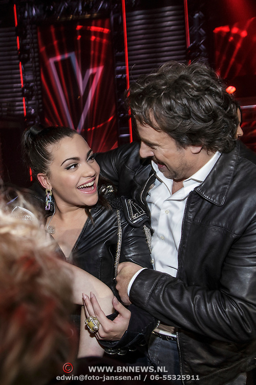 NLD/Hilversum/20141121- 2de Live The Voice of Holland, Marco Borsato en O'G3ne