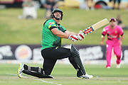 Stags Jesse Ryder batting during the Burger King Super Smash Twenty20 cricket match Knights v Stags played at Bay Oval, Mount Maunganui, New Zealand on Wednesday 27 December 2017.<br /> <br /> Copyright photo: &copy; Bruce Lim / www.photosport.nz