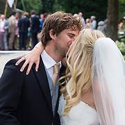 NLD/Wassenaar/20130824 - Huwelijk Jennifer Ewbank en partner Robin de Munk,