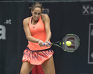 Madison Keys (USA) on Day Three of the WTA Generali Ladies Linz Open at TipsArena, Linz<br /> Picture by EXPA Pictures/Focus Images Ltd 07814482222<br /> 12/10/2016<br /> *** UK & IRELAND ONLY ***<br /> <br /> EXPA-REI-161012-5002.jpg