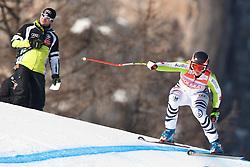 23.01.2011, Tofana, Cortina d Ampezzo, ITA, FIS World Cup Ski Alpin, Lady, Cortina, SuperG, im Bild Gina Stechert (GER, #1) // Gina Stechert (GER)  during FIS Ski Worldcup ladies SuperG at pista Tofana in Cortina d Ampezzo, Italy on 23/1/2011. EXPA Pictures © 2011, PhotoCredit: EXPA/ J. Groder