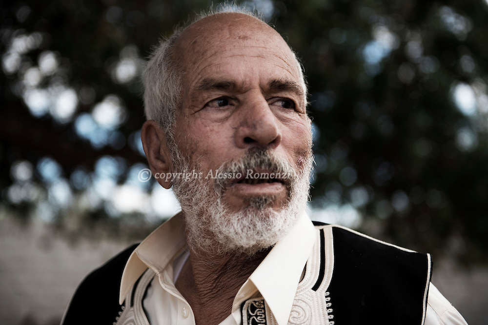 Libya, Misurata: Ahmed father who was killed by ISIS and whose body was returned to his family only three months after his killing. Alessio Romenzi