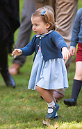 Princess Charlotte Takes Her 1st Steps
