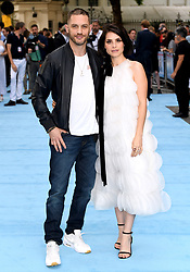 Tom Hardy and Charlotte Riley attending the Swimming with Men premiere held at Curzon Mayfair, London. Photo credit should read: Doug Peters/EMPICS
