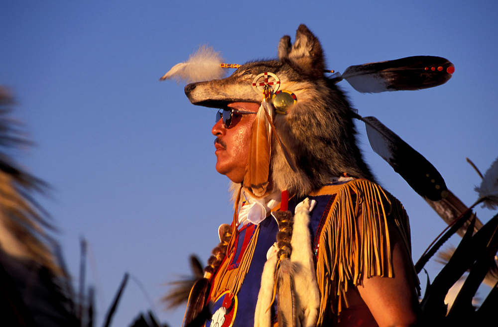 Traditional dancer,Grand Entry, North American Indian days,Blackfeet Indian Reservation, Browning, Montana, USA