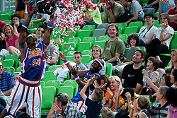 Hi-Lite Bruton at The Harlem Globetrotters Show, on May 26, 2011 in SRC Stozice, Slovenia. (Photo by Matic Klansek Velej / Sportida)