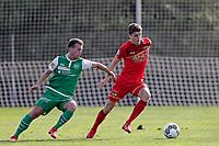 *Marco Aratore* of FC St Gallen, *Guus Til* of AZ Alkmaar,