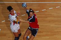 Håndball<br /> Foto: DPPI/Digitalsport<br /> NORWAY ONLY<br /> <br /> PARIS ILE DE FRANCE TOURNAMENT 2004<br /> PARIS (FRA) - 06/12/2004<br /> <br /> NORGE V SPANIA<br /> <br /> KARI METTE JOHANSEN (NOR)