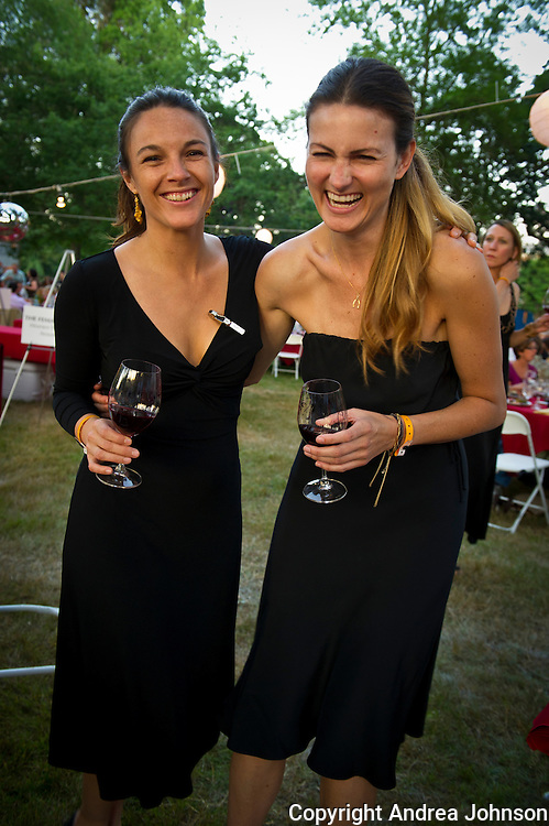 Sommeliers Carrie Stigge & Jennifer Cossey at 2011 IPNC