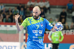 Vid Kavticnik of Slovenia during handball match between National teams of Slovenia and Czech Republic on Day 7 in Main Round of Men's EHF EURO 2018, on January 24, 2018 in Arena Varazdin, Varazdin, Croatia. Photo by Mario Horvat / Sportida