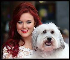 JUL 13 2014 Pudsey The dog : The Movie premiere