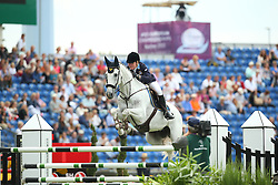 Persson Helena, (SWE), Bonzai H<br /> Team Competition round 1 and Individual Competition round 1<br /> FEI European Championships - Aachen 2015<br /> © Hippo Foto - Stefan Lafrentz<br /> 19/08/15