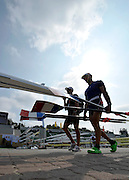Poznan, POLAND, GV's round the boat area on the sixth day of the 2009 FISA World Rowing Championships. held on the Malta Rowing lake, Thursday  27/08/2009  [Mandatory Credit. Peter Spurrier/Intersport Images]