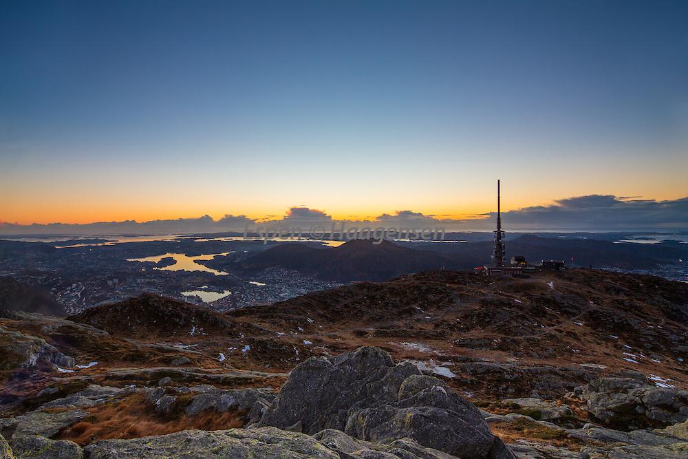 Sunset from Ulriken