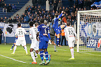 Goal CSC Romain DANZE - 13.01.2015 - Bastia / Rennes - 1/4Finale Coupe de la Ligue -<br />