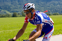 Uros Murn (SLO) of Adria Mobil  at 1st stage of Tour de Slovenie 2009 from Koper (SLO) to Villach (AUT),  229 km, on June 18 2009, in Koper, Slovenia. (Photo by Vid Ponikvar / Sportida)