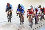 Women's Omnium Points race during the UCI Cycling World Cup at the Avantidrome, Cambridge, New Zealand, Sunday, December 06, 2015. Credit: Dianne Manson/CyclingNZ/UCI