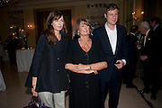 INDIA JANE BIRLEY; LADY ANNABEL GOLDSMITH; ZAC GOLDSMITH, Book launch of Lady Annabel Goldsmith's third book, No Invitation Required. Claridges's. London. 11 November 2009