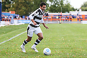 Forest Green Rovers Fabien Robert (26) runs forward during the Vanarama National League match between Braintree Town and Forest Green Rovers at the Amlin Stadium, Braintree, United Kingdom on 24 September 2016. Photo by Shane Healey.
