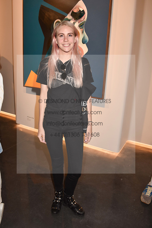 India Rose James at the launch of Unit London Mayfair and Ryan Hewett The Garden Preview, Hanover Square, London, England. 26 June 2018.