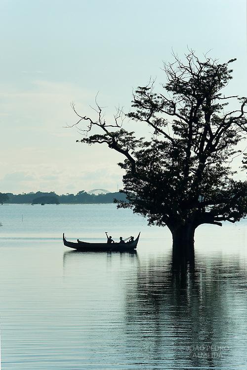 Boat at U Bein