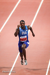 2019 IAAF World Athletics Championships held in Doha, Qatar from September 27- October 6<br /> Day 2<br /> USA mens 100 semi