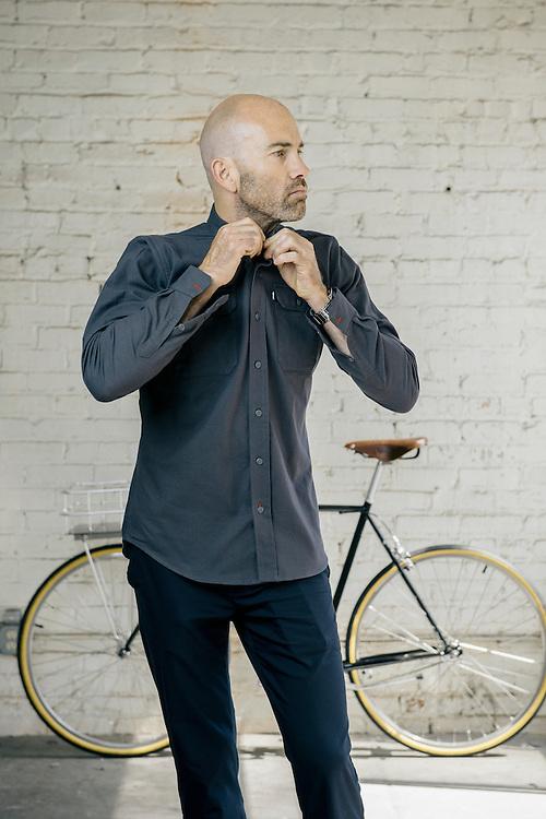 Vaughn Brown, menswear designer. San Francisco, CA | Bicycling Magazine