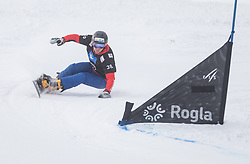 Stefaner Johann during the FIS snowboarding world cup race in Rogla (SI / SLO) | GS on January 20, 2018, in Jasna Ski slope, Rogla, Slovenia. Photo by Urban Meglic / Sportida