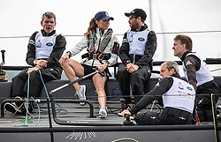 The Duke and Duchess of Cambridge take part in the inaugural regatta for The King's Cup to raise awareness and funds for eight of Their Royal Highnesses' patronages in Cowes, Isle of Wight, UK, on the 8th August 2019. Picture by Richard Pohle/WPA-Pool. 08 Aug 2019 Pictured: Catherine, Duchess of Cambridge, Kate Middleton. Photo credit: MEGA TheMegaAgency.com +1 888 505 6342