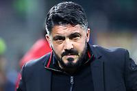 Gennaro Gattuso allenatore del Milan  - Milan-Inter - Coppa Italia Tim Cup