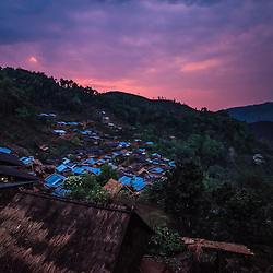 Trekking in Northern Laos, Boun Tay district (Phongsaly Province)<br /> <br /> The population of Laos is relatively small, but is incredibly diverse, with 68 different official ethnic groups. Highland areas are dominated by the Hmong and Mien groups, with smaller groups of Karen, Akha, Lisu, Lahu and Lolo people also featuring. Each tribe has its own distinct customs, celebrations, dress and language. Mostly nomadic or semi-nomadic, they are historically border people whose roots lie not only in Laos but also in China, Tibet, Thailand, Myanmar, Cambodia. Many do not speak Lao, so it is best to find a guide who can speak the local dialects.