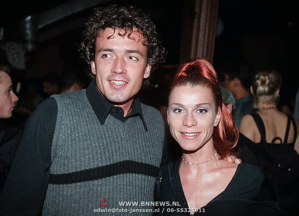 Playboy Millenium Party 1999, Alfons van Alphen en Anatevka Bos