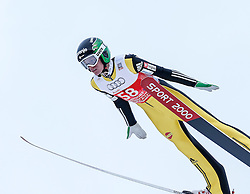 27.12.2014, Schattenbergschanze, Oberstdorf, GER, FIS Ski Sprung Weltcup, 63. Vierschanzentournee, Training, im Bild Matjaz Pungertar (SLO) // Matjaz Pungertar of Slovenia// during practice Jump of 63 rd Four Hills Tournament of FIS Ski Jumping World Cup at the Schattenbergschanze, Oberstdorf, Germany on 2014/12/27. EXPA Pictures © 2014, PhotoCredit: EXPA/ Peter Rinderer