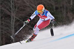 KRATTER Elena LW2 SUI at 2018 World Para Alpine Skiing Cup, Kranjska Gora, Slovenia