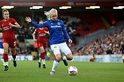 Everton women midfielder Inessa Kaagman (8) during the FA Women's Super League match between Liverpool Women and Everton Women at Anfield, Liverpool, England on 17 November 2019.