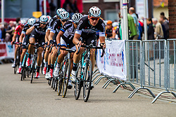OPQS leading the bunch in the penultimate lap, Stage 3 Buchten - Buchten, Ster ZLM Toer, Buchten, The Netherlands, 20th June 2014, Photo by Thomas van Bracht / Peloton Photos