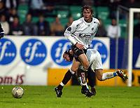 Fotball, 22. september 2003, Tippeligaen,  Sogndal-Viking 2-2,   Anders Stadheim, Sogndal
