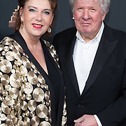 NLD/Amsterdam/20200122 - Musical Award Gala 2020, Willibrord Frequin en partner Gesina Lodewijkxs