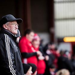 Aberdeen v Celtic, SPrem, 25th February 2018<br /> <br /> Aberdeen v Celtic, SPrem, 25th February 2018 &copy; Scott Cameron Baxter | SportPix.org.uk<br /> <br /> Aberdeen Fan watches on.