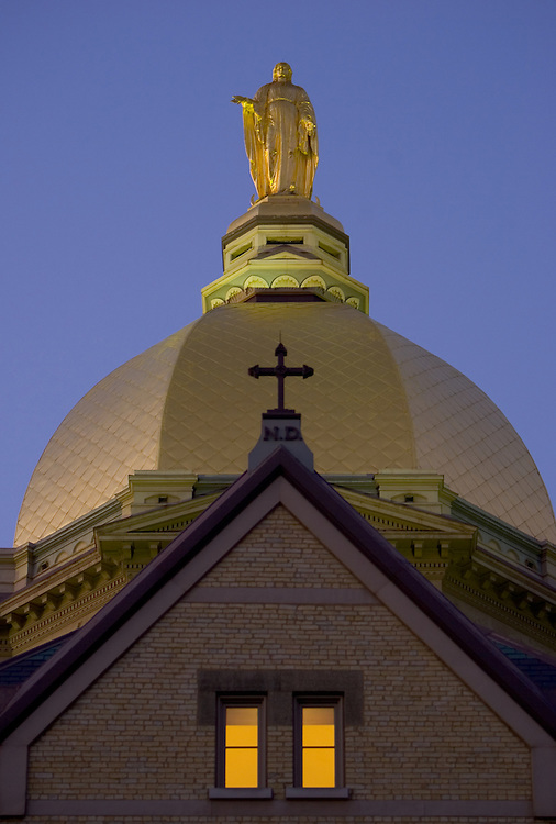 Golden Dome atop the Main Building